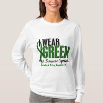 I Wear Green For Someone Special10 Cerebral Palsy T-Shirt