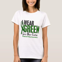 I Wear Green For The Cure 10 Cerebral Palsy T-Shirt