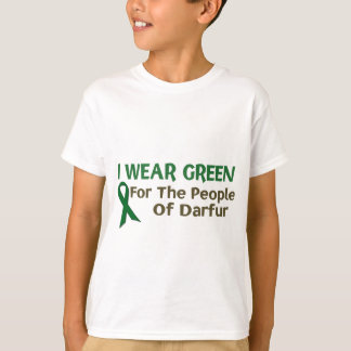 I Wear Green For The PEOPLE OF DARFUR T-Shirt