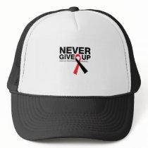 I Wear Green Mitochondrial Disease Awareness Trucker Hat