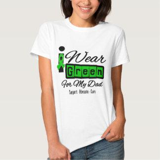 I Wear Green Ribbon (Retro) - Dad Tee Shirt