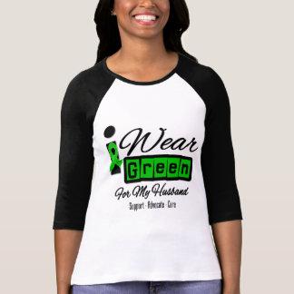 I Wear Green Ribbon (Retro) - Husband T-shirts