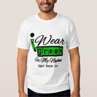I Wear Green Ribbon (Retro) - Nephew Shirt