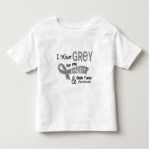 I Wear Grey 42 Daddy Brain Tumor Toddler T-shirt