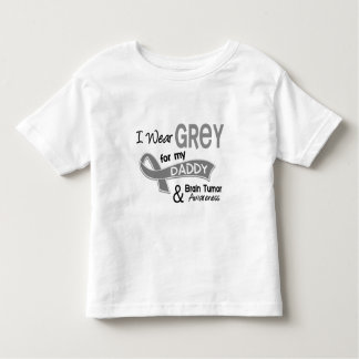 I Wear Grey 42 Daddy Brain Tumor Toddler T-shirt