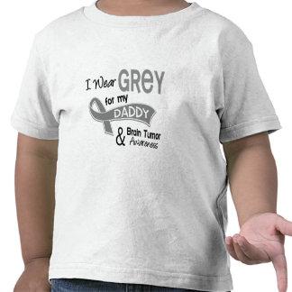 I Wear Grey 42 Daddy Brain Tumor Tee Shirt