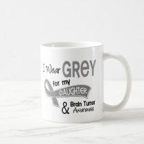 I Wear Grey 42 Daughter Brain Tumor Coffee Mug