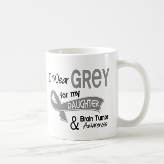 I Wear Grey 42 Daughter Brain Tumor Coffee Mug