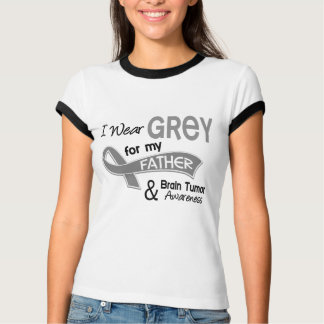 I Wear Grey 42 Father Brain Tumor T-Shirt