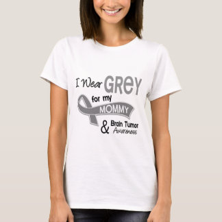 I Wear Grey 42 Mommy Brain Tumor T-Shirt
