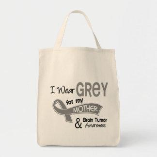 I Wear Grey 42 Mother Brain Tumor Tote Bag