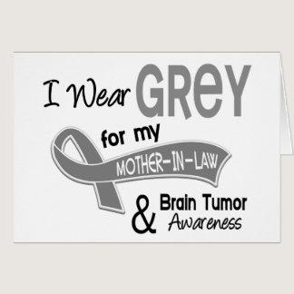 I Wear Grey 42 Mother-In-Law Brain Tumor Card