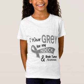 I Wear Grey 42 Niece Brain Tumor T-Shirt