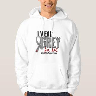 I Wear Grey For ME 10 Diabetes Hooded Sweatshirt