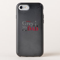 I Wear Grey For My Dad Brain Cancer Awareness Gift Speck iPhone Case