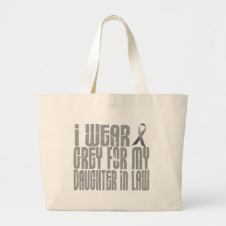 I Wear Grey For My DAUGHTER-IN-LAW 16 Canvas Bag