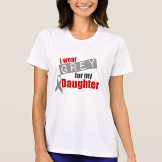 I Wear Grey For My Daughter Tee Shirt