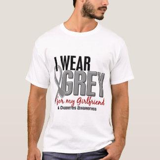 I Wear Grey For My Girlfriend 10 Diabetes T-Shirt