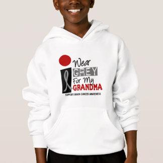 I Wear Grey For My Grandma 9 BRAIN CANCER T-Shirts