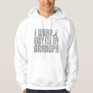 I Wear Grey For My GRANDPA 16 Hoodie