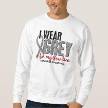 I Wear Grey For My Grandson 10 Diabetes Sweatshirt