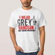 i wear grey for my grandson T-Shirt