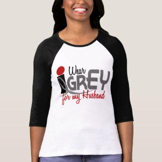 I Wear Grey For My Husband T-Shirt