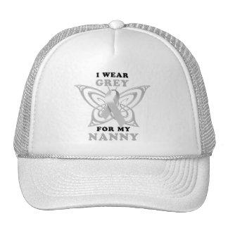 I Wear Grey for my Nanny Trucker Hat