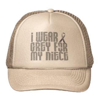 I Wear Grey For My Niece 16 Trucker Hat
