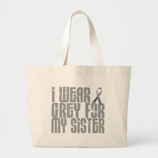 I Wear Grey For My SISTER 16 Bag