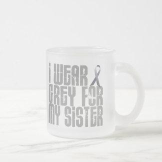 I Wear Grey For My SISTER 16 Mug