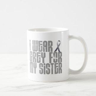 I Wear Grey For My SISTER 16 Coffee Mug