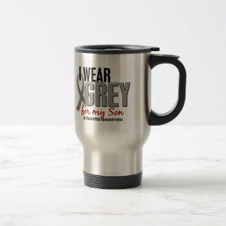 I Wear Grey For My Son 10 Diabetes Travel Mug