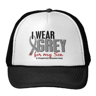 I Wear Grey For My Son 10 Diabetes Trucker Hat