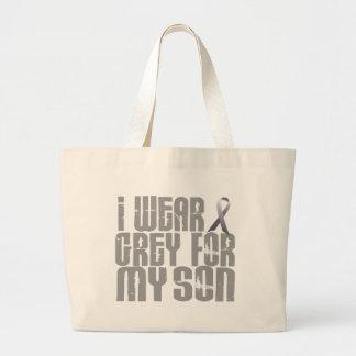 I Wear Grey For My SON 16 Bag