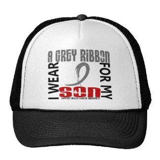 I Wear Grey For My Son 46 Brain Cancer Trucker Hat