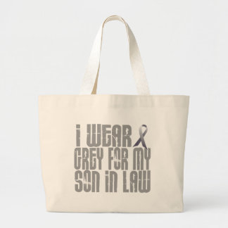 I Wear Grey For My SON-IN-LAW 16 Canvas Bag