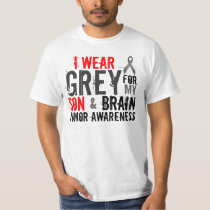 i wear grey for my son T-Shirt