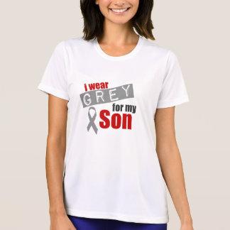 I Wear Grey For My Son Tee Shirts