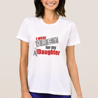I Wear Grey For My Step Daughter T Shirt