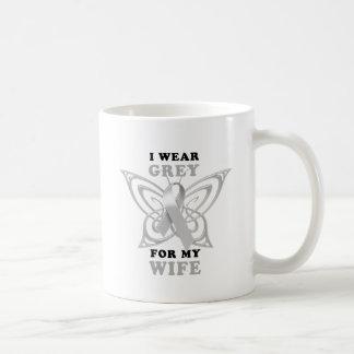 I Wear Grey for my Wife Coffee Mug