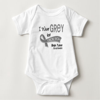 I Wear Grey For Someone Special 42 Brain Tumor T-shirt