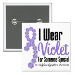 I Wear Hodgkins Lymphoma Ribbon (Someone Special) Buttons