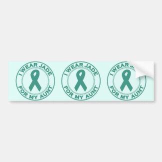 I Wear Jade For My Aunt Bumper Sticker