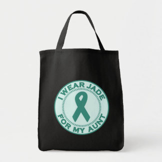 I Wear Jade For My Aunt Tote Bag