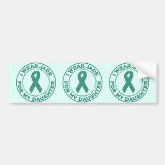 I Wear Jade For My Daughter Bumper Sticker
