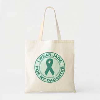 I Wear Jade For My Daughter Tote Bag