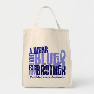 I Wear Light Blue For Brother 6.4 Prostate Cancer Tote Bag