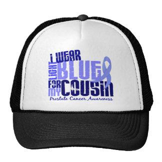 I Wear Light Blue For Cousin 6.4 Prostate Cancer Trucker Hat