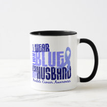 I Wear Light Blue For Husband 6.4 Prostate Cancer Mug